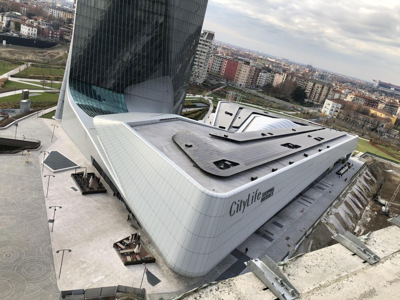 - Podium Hadid – Milano