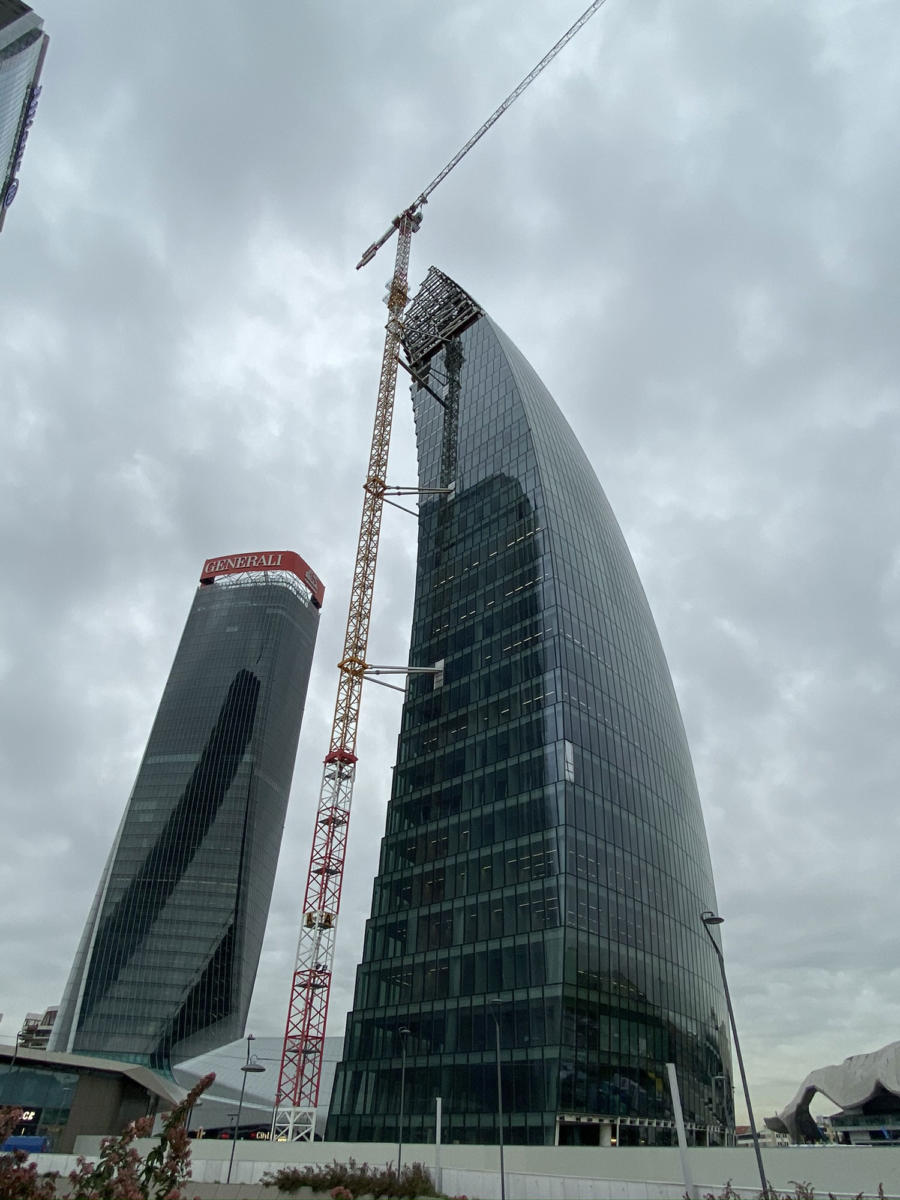 - Torre Libeskind, City Life – Milano